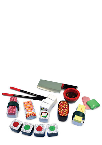 Melissa & Doug® 24-Piece Wooden Sushi Set