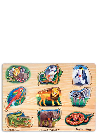 Melissa & Doug® Wild Animal Sound Puzzle
