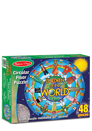 Melissa & Doug® 48-Piece Children Around the World Floor Puzzle - Online Only