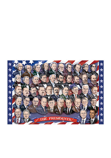 Melissa & Doug® 100-Piece Presidents of the U.S.A. Floor Puzzle - Online Only