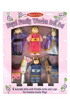 Melissa & Doug® Royal Family Wooden Doll Set - Online Only