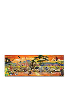 Melissa & Doug 100-Piece Safari Floor Puzzle - Online Only