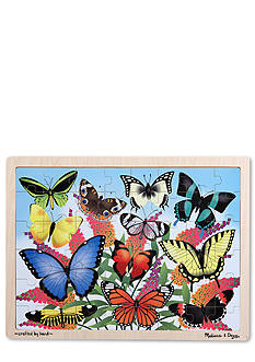 Melissa & Doug 48-Piece Butterfly Garden Wooden Jigsaw Puzzle - Online Only