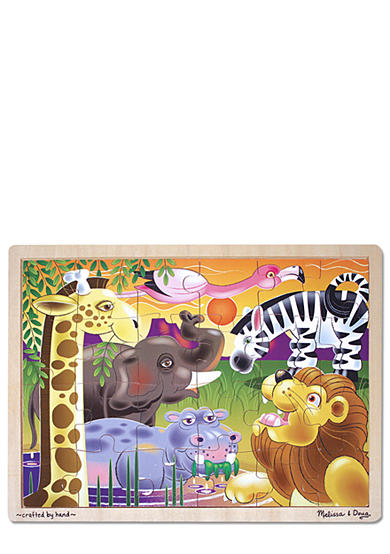 Melissa & Doug® 24-Piece African Plains Jigsaw Puzzle - Online Only