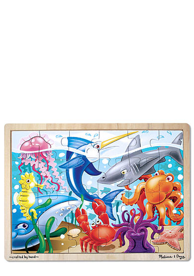 Melissa & Doug® 24-Piece Under the Sea Jigsaw Puzzle - Online Only