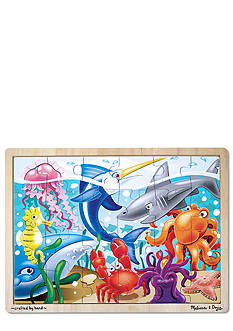 Melissa & Doug 24-Piece Under the Sea Jigsaw Puzzle - Online Only