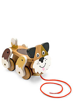 Melissa & Doug® First Play Wood-Playful Puppy Pull Toy