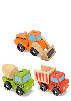 Melissa & Doug® Construction Trucks Set