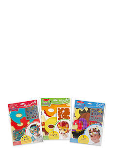 Melissa & Doug® Simple Craft Bundle - Masks, Cuffs, & Hats