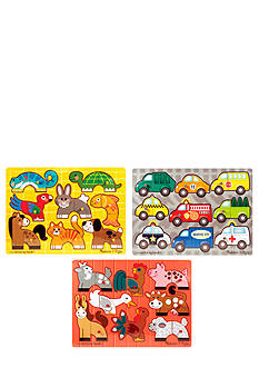 Melissa & Doug® Mix 'N Match 3 Puzzle Bundle - Online Only