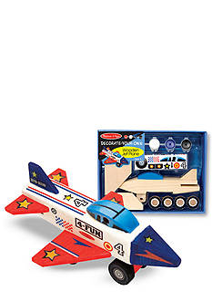Melissa & Doug® Wooden Jet Plane Kit - Online Only