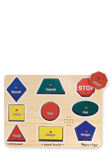 Melissa & Doug® Wooden Familiar Shapes Puzzle