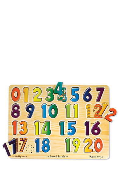 Melissa & Doug® Numbers Sound Puzzle - Online Only