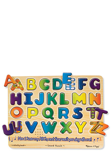 Melissa & Doug® Alphabet Sound Puzzle - Online Only