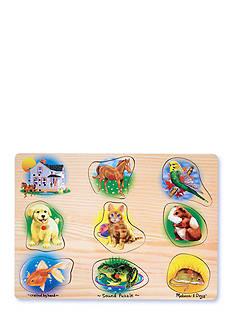Melissa & Doug® Wooden Pets Sounds Puzzle