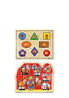 Melissa & Doug® Jumbo Knob Puzzle Bundle - Online Only