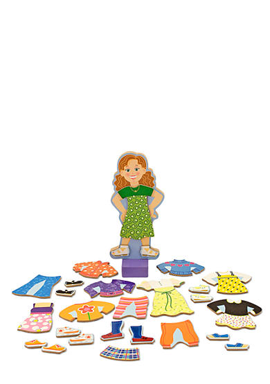 Melissa & Doug® Maggie Leigh Magnetic Dress Up