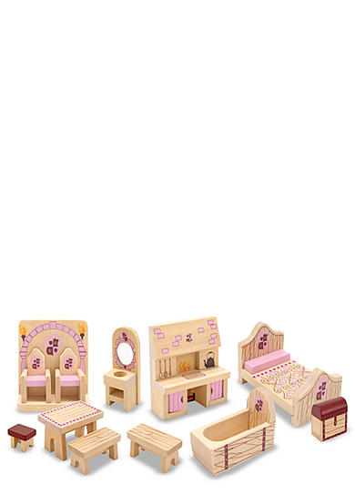 Melissa & Doug® Princess Castle Furniture Set - Online Only