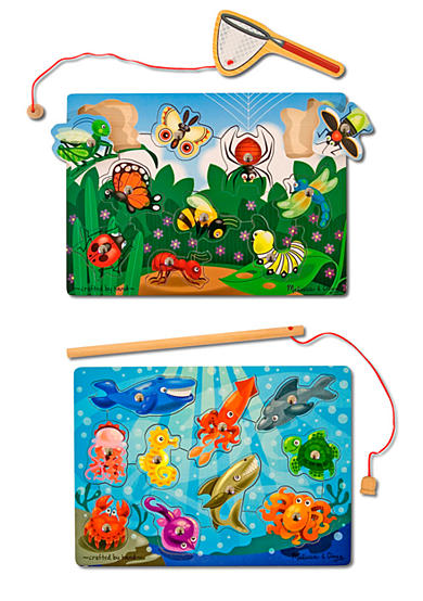 Melissa & Doug® Fishing & Bug Catching Magnetic Game Bundle - Online Only