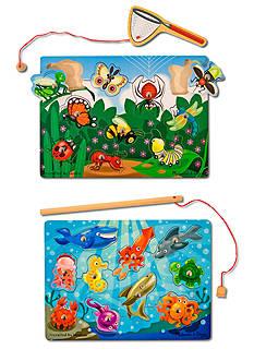 Melissa & Doug® Fishing & Bug Catching Magnetic Game Bundle - Online Only