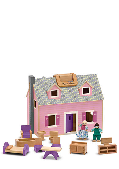Melissa & Doug® Fold & Go Dollhouse - Online only