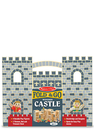 Melissa & Doug® Fold and Go Castle - Online Only