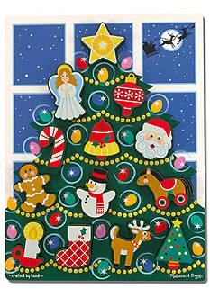Melissa & Doug Chunky Christmas Tree Puzzle
