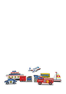 Melissa & Doug® Vehicles Chunky Puzzle - 9 Pieces