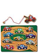 Melissa & Doug® Tow Truck Magnetic Puzzle