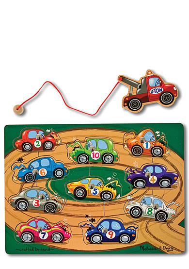Melissa & Doug® Tow Truck Magnetic Puzzle Game - Online Only