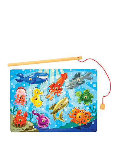 Melissa & Doug® Fishing Magnetic Puzzle Game - Online Only