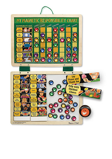 Melissa & Doug® Magnetic Responsibility Chart - Online Only