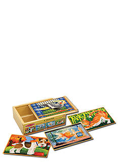 Melissa & Doug® Pets Puzzles in a Box - Online Only