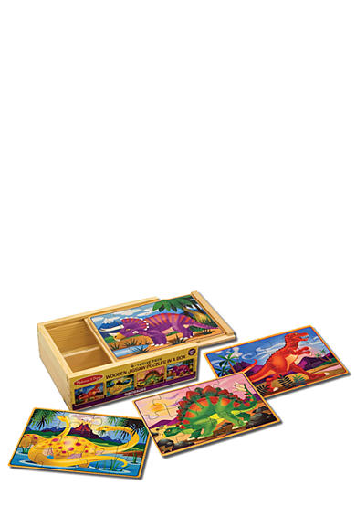 Melissa & Doug® Dinosaurs Puzzles in a Box - Online Only