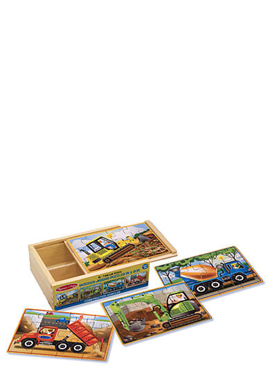 Melissa & Doug® Construction Puzzles in a Box - Online Only