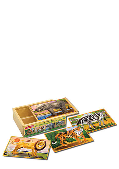 Melissa & Doug® Wild Animal Jigsaw Puzzles