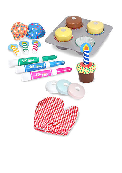 Melissa & Doug® Bake & Decorate Cupcake Set - Online Only