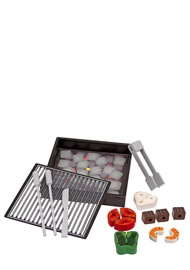 Melissa & Doug® Wooden Grill Set