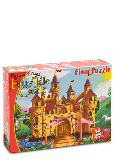 Melissa & Doug® Fairy Tale 48-Piece Castle Floor Puzzle - Online Only