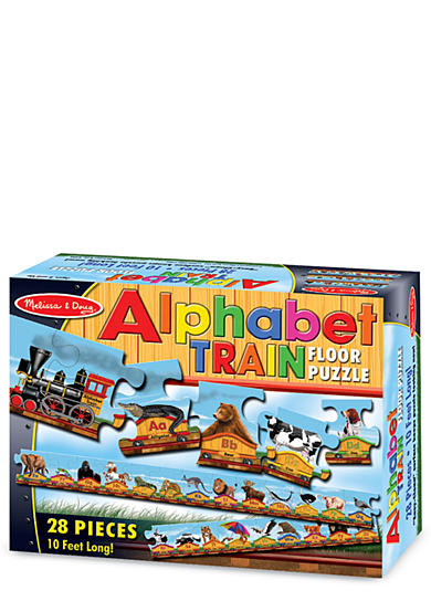 Melissa & Doug® Alphabet Train 28-Piece Floor Puzzle - Online Only