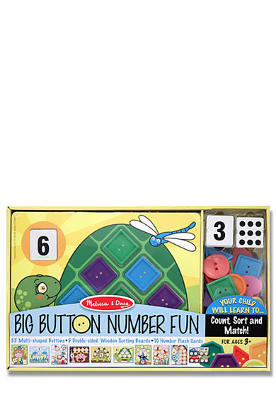 Melissa & Doug® Big Button Number Fun - Online Only