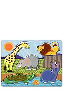 Melissa & Doug® Zoo Animals Touch and Feel