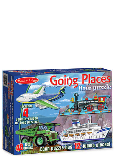 Melissa & Doug® Going Places 48-Piece Floor Puzzle - Online Only