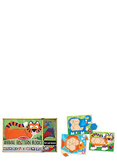Melissa & Doug® Animal Pattern Blocks - Online Only