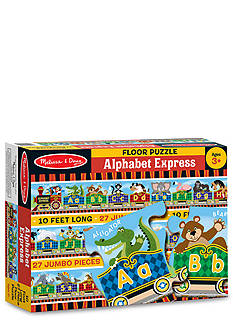 Melissa & Doug® Alphabet Express Floor Puzzle 27-Pieces - Online Only