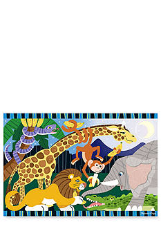 Melissa & Doug® Safari Social Floor 24-Piece Puzzle - Online Only