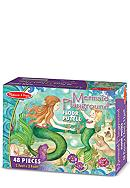 Melissa & Doug® Mermaid Playground 48-Piece