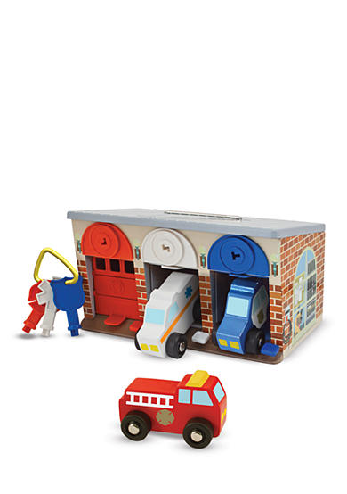 Melissa & Doug® Lock and Roll Rescue Garage