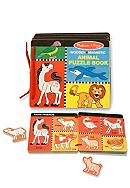 Melissa & Doug® Magnetic Animal Puzzle Book -