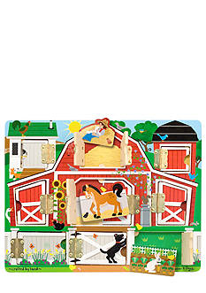 Melissa & Doug Farm Animals Hide & Seek Puzzle